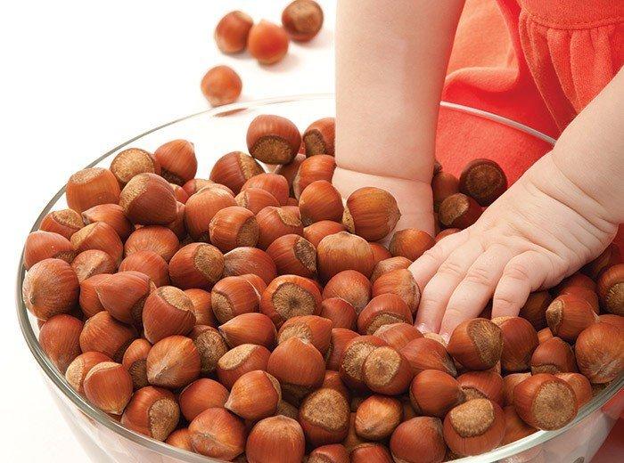 Можно ли ребенку 3 лет орехи